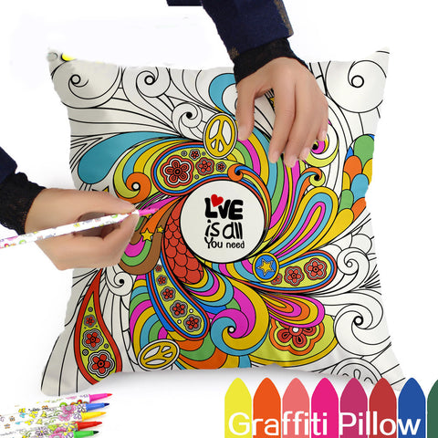 Cushion Cover to Colour in - Luv2ShopNZ
