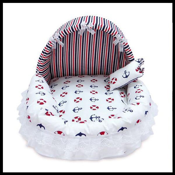 Beautiful Cotton Kennel Bed