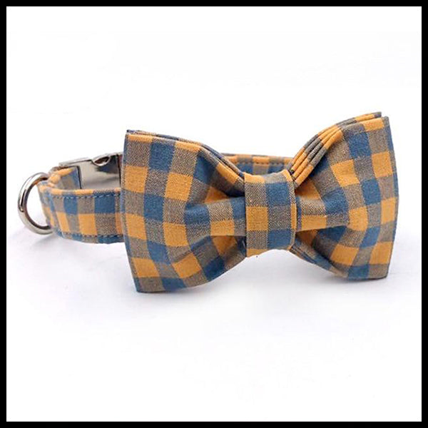 Check Me Out Collar, Bow Tie & Lead Set