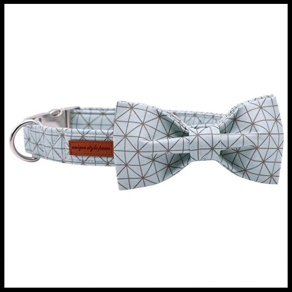 Constellation Collar, Bow Tie & Lead Set