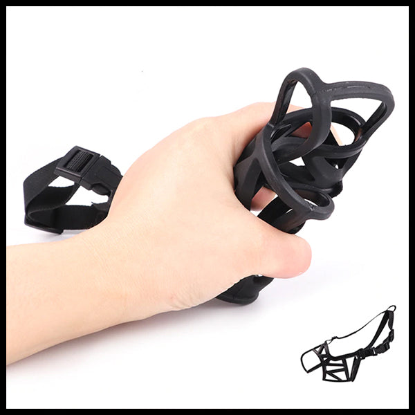 Natural Plant Rubber Dog Muzzle