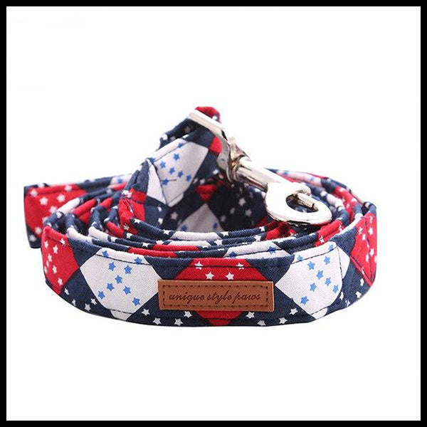 Private School Collar, Bow Tie & Lead Set