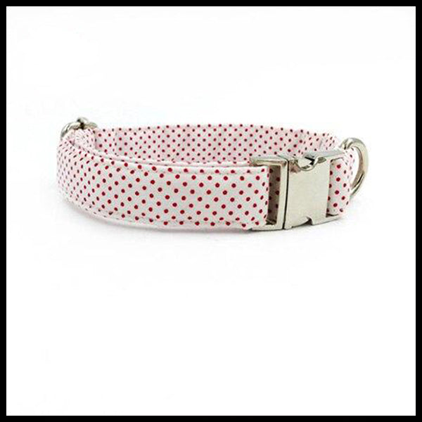 Spotty Dots Collar, Bow Tie & Lead Set