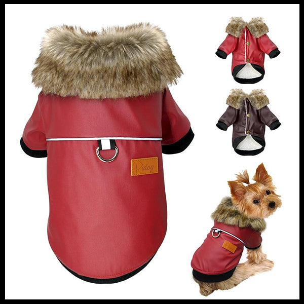 Warm, Waterproof Dog Jacket