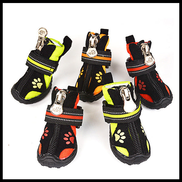 Waterproof Dog Shoes 8 Sizes