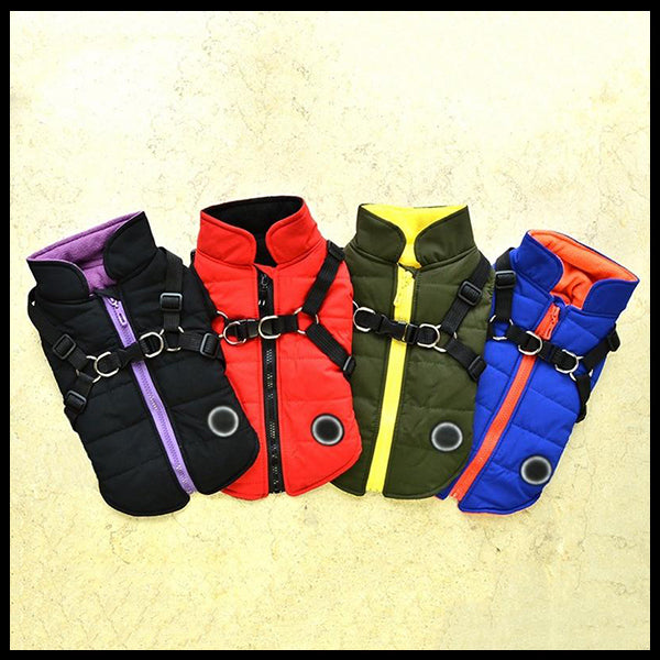 Waterproof Dog Vest & Harness
