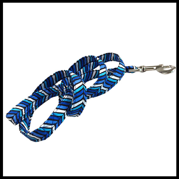 Blue Jay Collar, Bow Tie & Lead Set