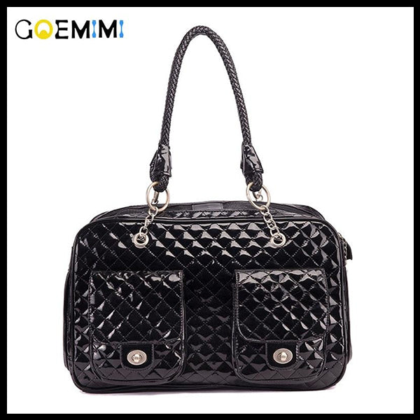 GOEMIMI Leather Dog Carrier Bag