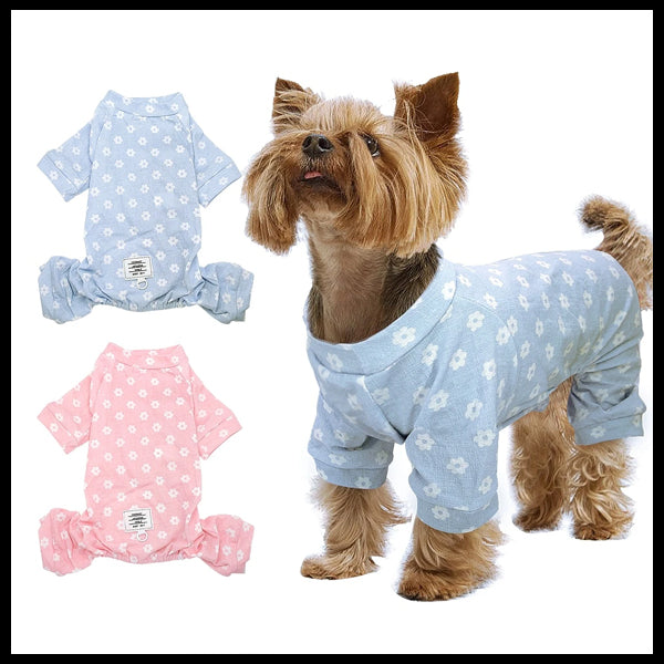 Little Dog Pattern PJ's