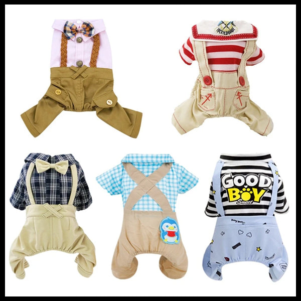 12 Different Varieties of Dog Rompers