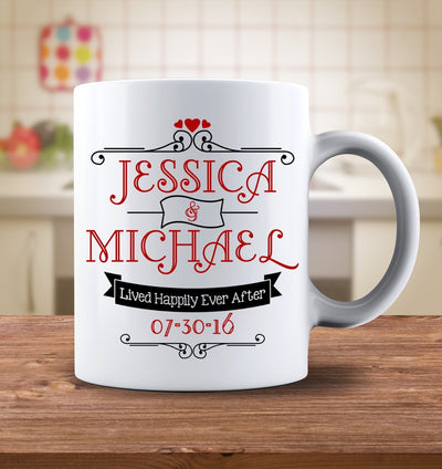 Drinkware - Happily Ever After Personalized Mug