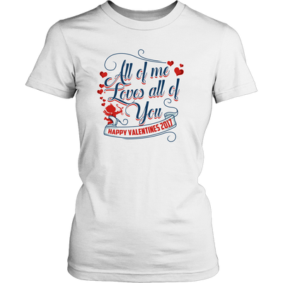 Happy Valentines 2017 Womens Shirt