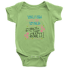 Welcome To The World Girl Personalized Baby Onesie
