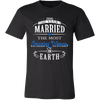 T-shirt - 2016 The Year I Married The Most Amazing Woman On Earth Shirt