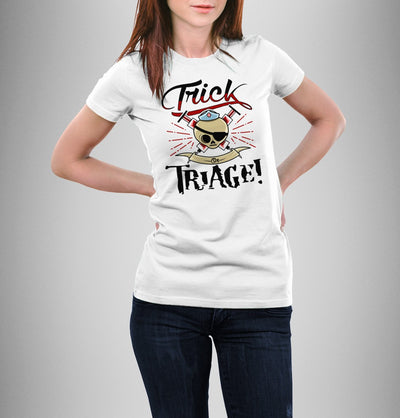 T-shirt - Trick Or Triage Shirt