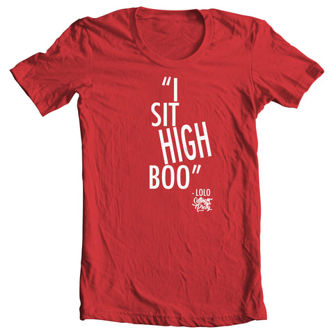 """Sit High"" Ladies Tee"