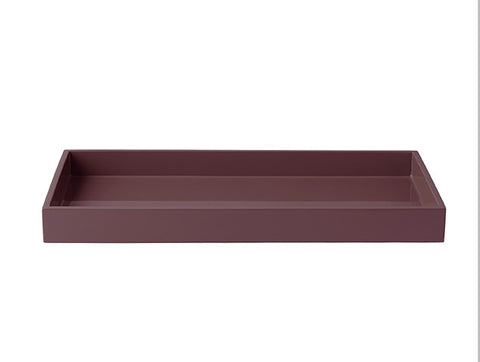 LAQUER TRAY RECTANGLE WILD GINGER
