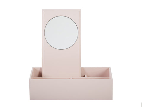 MAKE UP BOX DUSTY ROSE