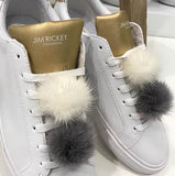 SHOE POM POM WHITE SMALL