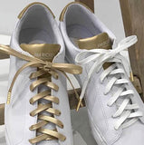 SHOE LACES GOLD W. GOLD