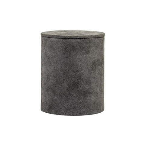 GREY STORAGE BOX L
