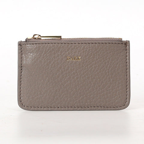 COIN POUCH GREY GOLD