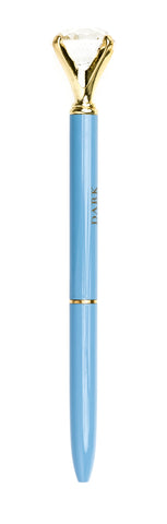 DIAMOND PEN BLUE W.GOLD