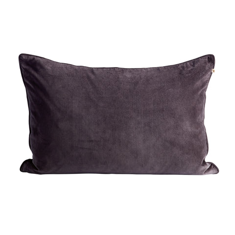 VELVET PILLOW COVER THUNDER 50X75