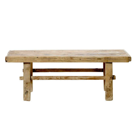 ELM WOOD COFFE TABLE