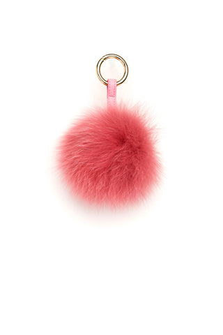 POM POM FOX GOLD DUSTY CORAL