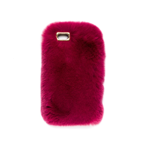 FUR IPHONE COVER WILDBERRY