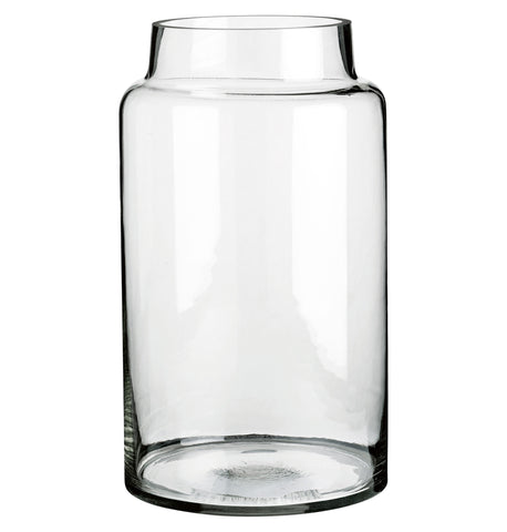 GLASS JAR L