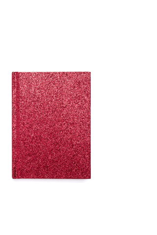 GLITTER NOTEBOOK RED S