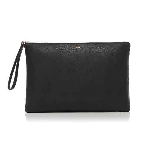 POUCH LARGE BLACK GOLD