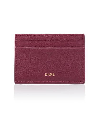 CARD HOLDER WINE GOLD