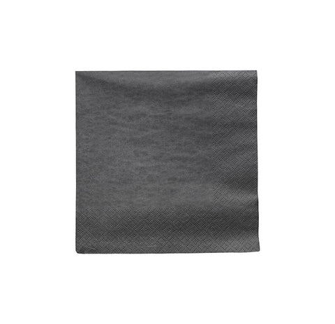 NAPKIN STEEL GREY