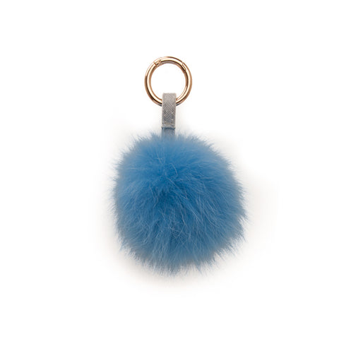 POM POM FOX GOLD DENIM BLUE