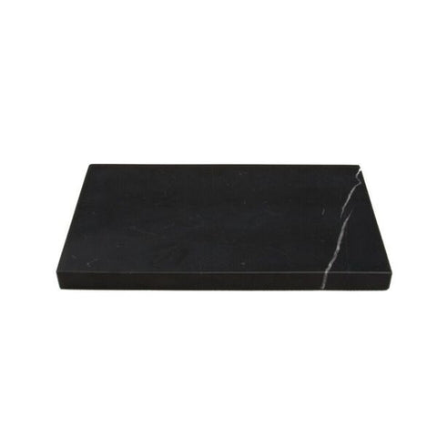 BLACK MARBLE PLATE S