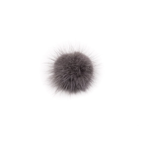 SHOE POM POM GREY SMALL