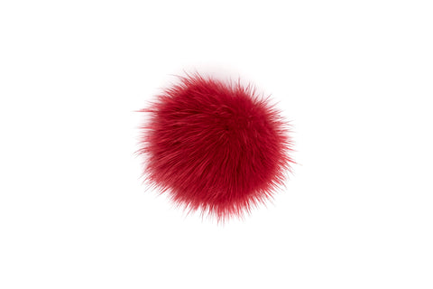SHOE POM POM RED SMALL