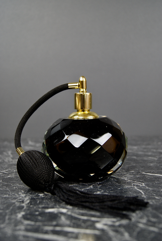 BOUDOIR PERFUME BOTTLE BLACK