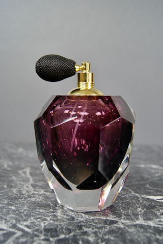 BOUDOIR PERFUME BOTTLE DARK PURPLE