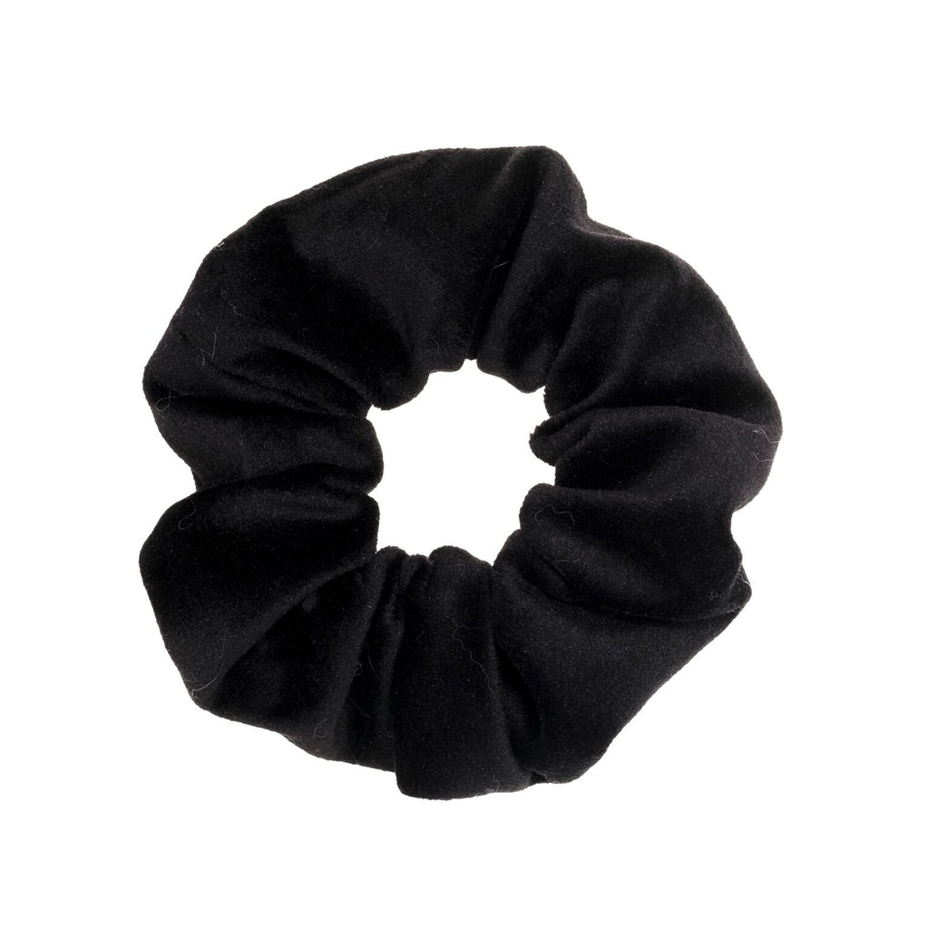 VELVET HAIR TIE SCRUNCHIE BLACK – Treasure Box 87c55916ccd