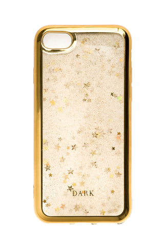 IPHONE COVER SAND MIX + STARS W/GOLD