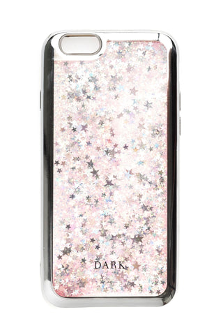 IPHONE COVER ROSE MIX + STARS W/SILVER