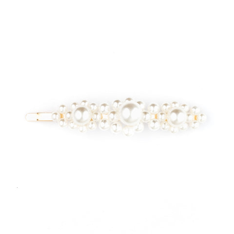 VINTAGE PEARL BIG PIN WHITE