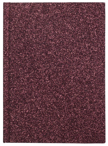 GLITTER NOTEBOOK WINE S