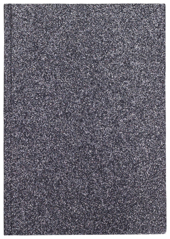 GLITTER NOTEBOOK INFINITY BLUE M