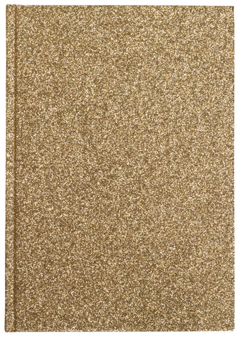 GLITTER NOTEBOOK GOLD M