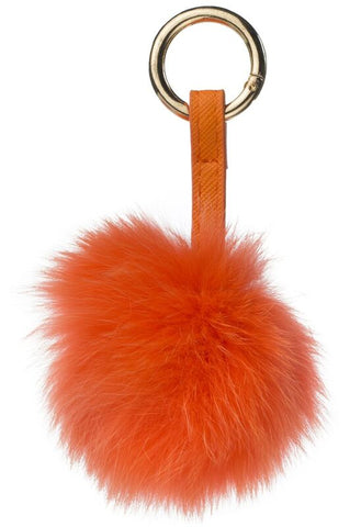 POM POM FOX GOLD ORANGE